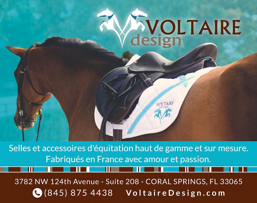 Selles et accessoires pour chevaux Voltaire Design