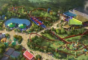 Toy Story Land à Disney World Orlando
