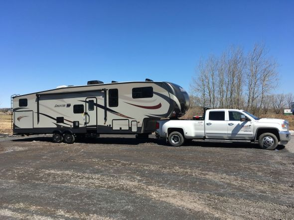Duo-Caroma Transport Fifth Wheel