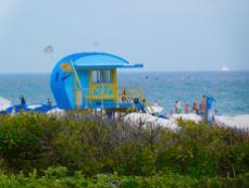 Plage de South Pointe à South Beach / Miami Beach