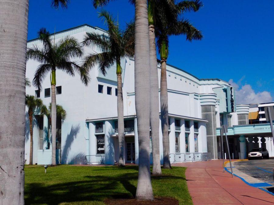 La salle de spectacle The Fillmore à Miami Beach