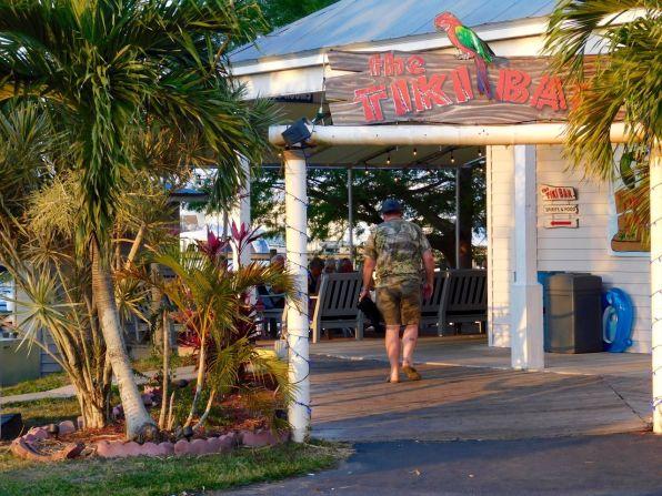 Le fameux Tiki bar de Clewiston en Floride, près du Lake Okeechobee.