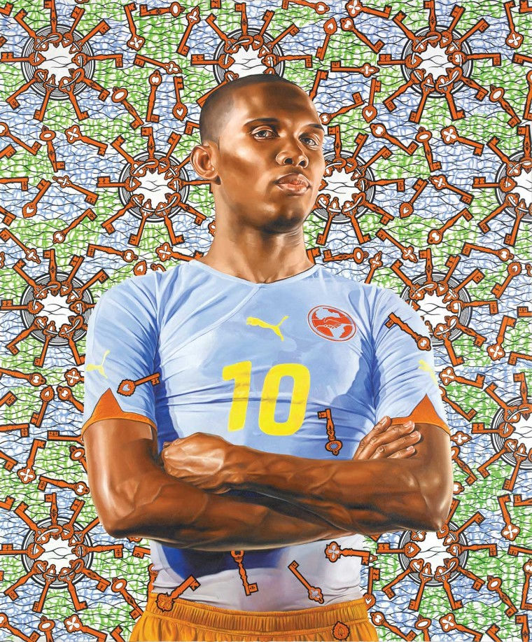 Exposition le football et l'art contemporain à Miami