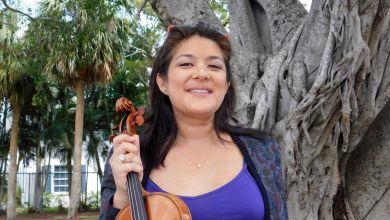 Photo of Miami : Anne Chicheportiche, une vie pour le violon !
