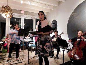 Vivica Genaux chantant à Musimelange : les concerts de musique de chambre à Miami.
