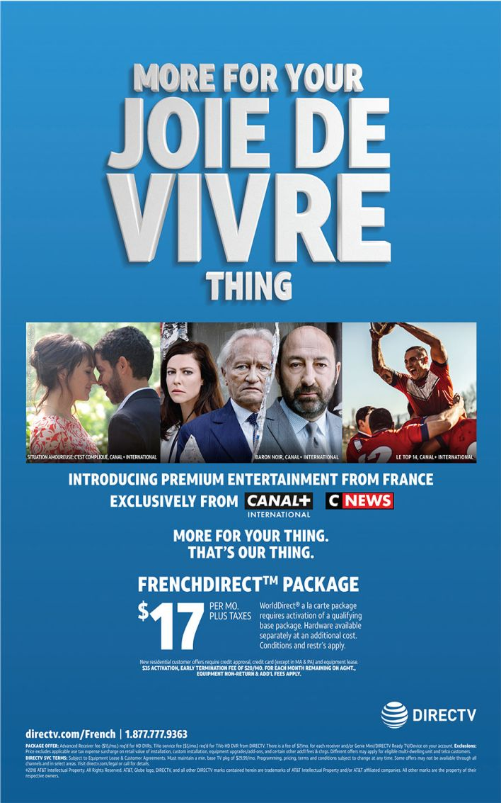 Canal + International et C News : les télévisions françaises aux Etats-Unis sur DirectTV