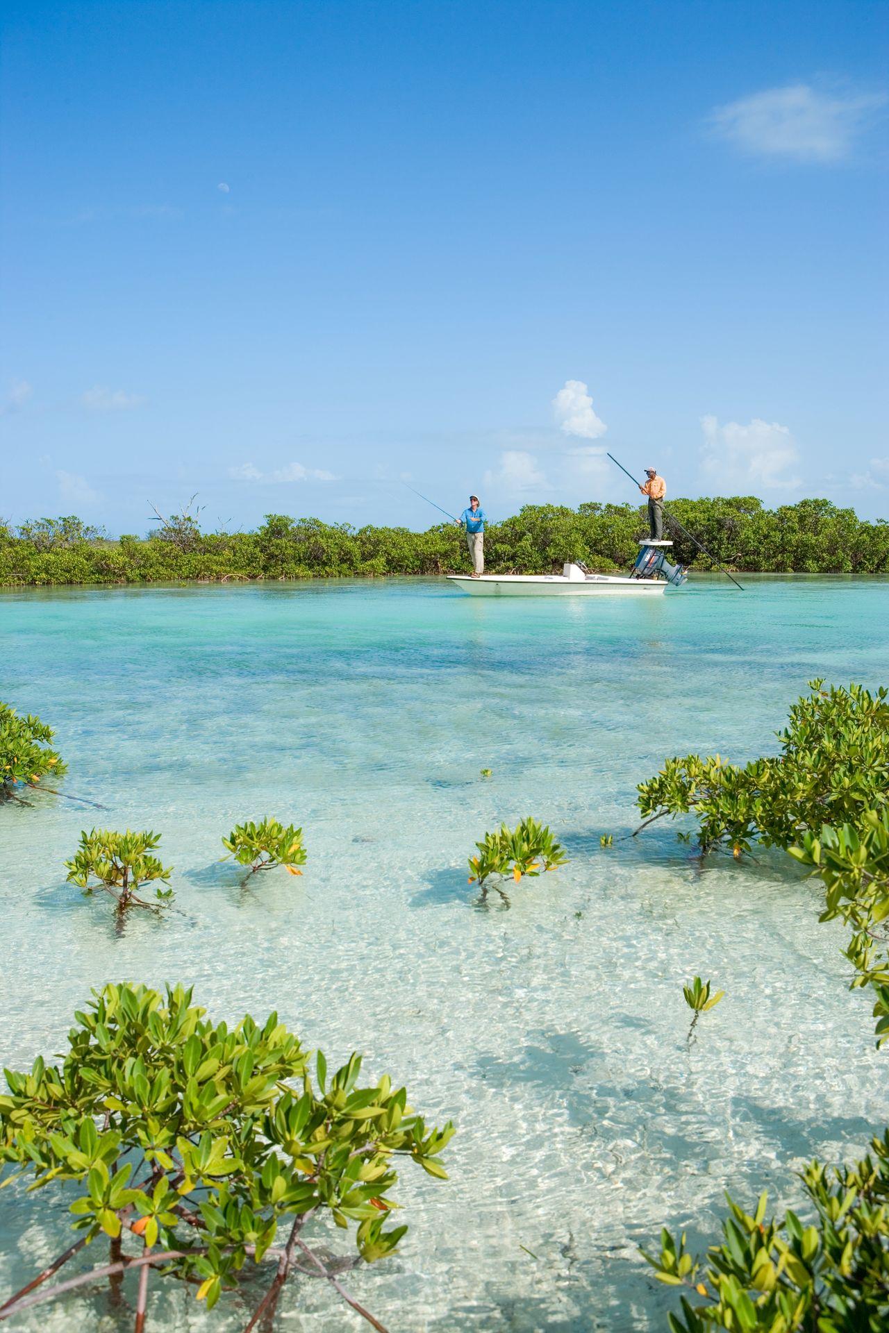 Bahamas - Pécheur de Bonefish