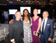 M. et Mme Serge J. Massat, Karine Aumont (consule adjointe @ consulat de France) et Alain Ouelhadj.
