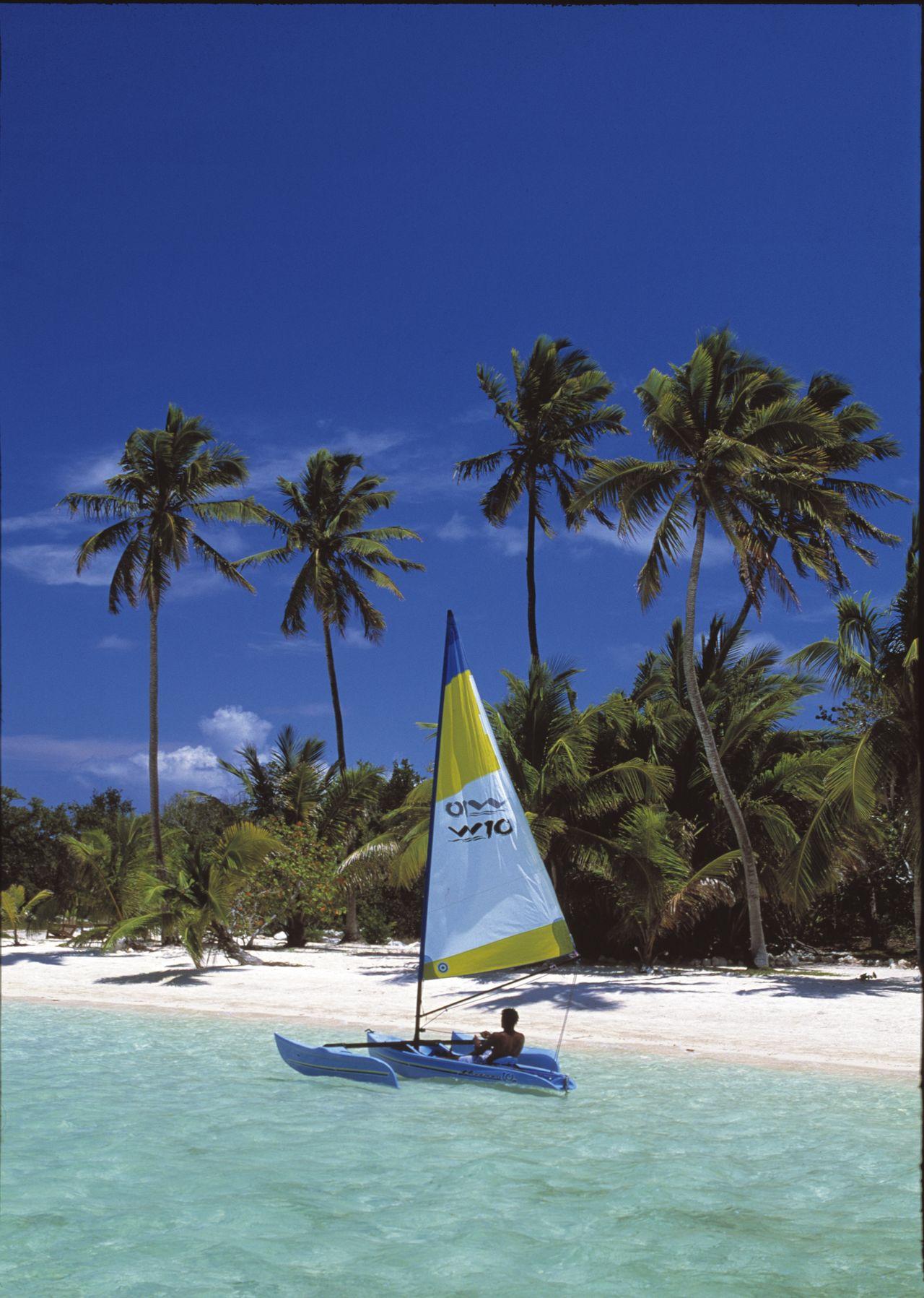 Bahamas Abaco - Bateau à voile