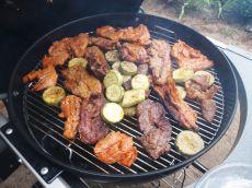 Barbecue aux Etats-Unis