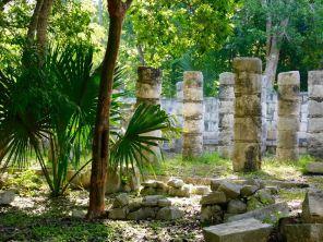 Temple des Guerrier Jaguars à Chichen Itza