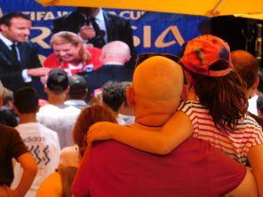 La finale de la Coupe du monde de football vue de Miami Beach