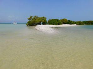 Punta Cocos sur île de Holbox.