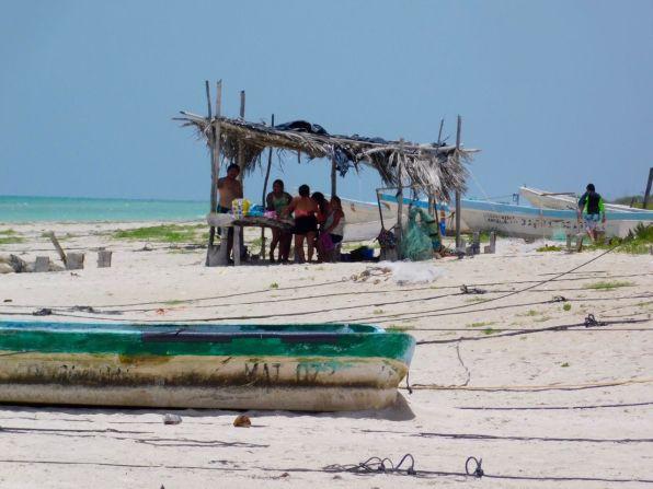 La magnifique plage de Las Coloradas au Mexique