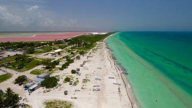 Photo of Las Coloradas, son lagon rose et ses plages époustouflantes (dans le Yucatán, au Mexique)