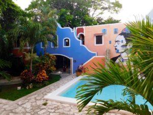 Hôtel La casa de las Flores à Playa del Carmen, sur la Riviera Maya du Mexique