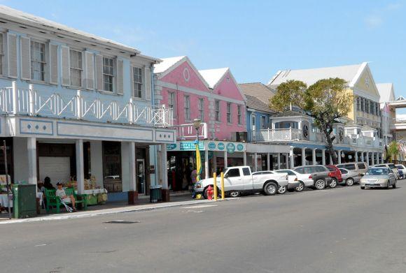Bahamas New Providence Nassau Bay Street