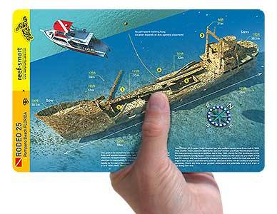 Ls cartes et guides sous-marins de Reef Smart Guides