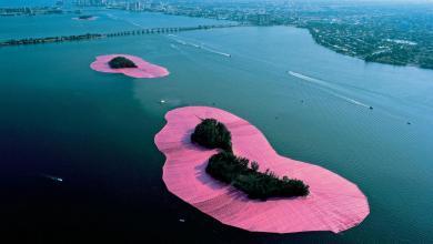 Photo of Expo sur les «îles entourées» par Christo et Jeanne-Claude à Miami