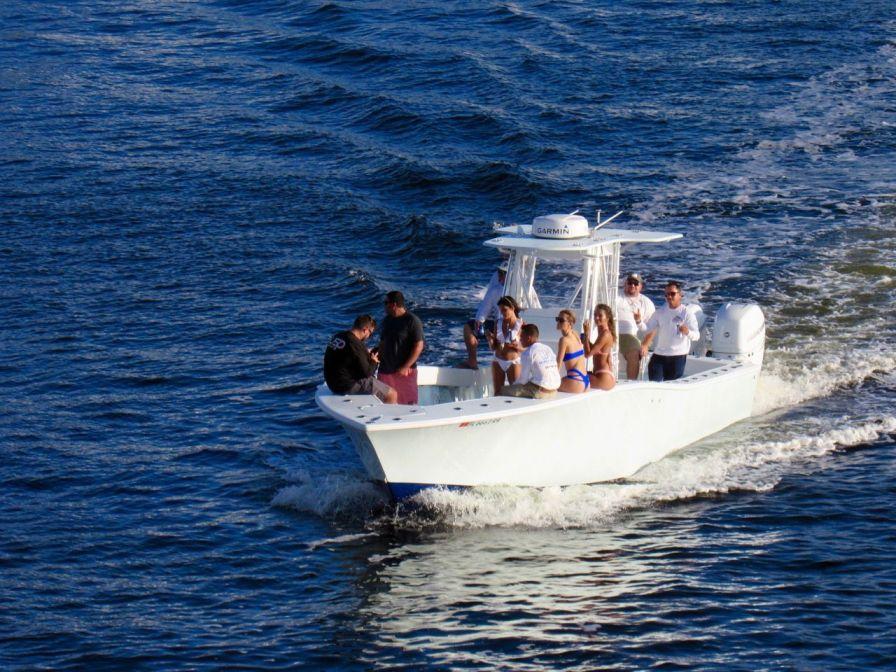 Fête sur un bateau à fort Lauderdale