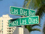 Le quartier central de Las Olas à Fort Lauderdale