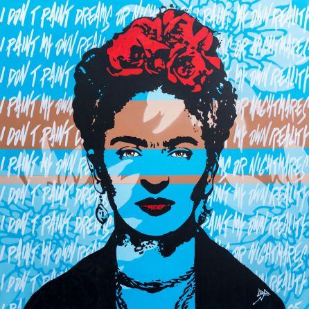 peinture de Loic Ercolessi artiste peintre français à Miami