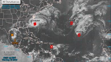 Photo of Un ouragan (Florence) et deux tempêtes dangereuses approchent des Amériques