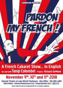 Pardon My French : spectacle à Palm Beach de Tangi Colombel