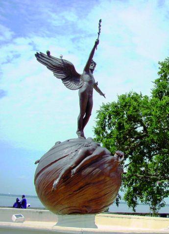 Le mémorial de la Première Guerre Mondiale à Jacksonville