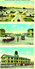 L'entraînement à Camp Johnson en Floride pour la Première Guerre Mondiale