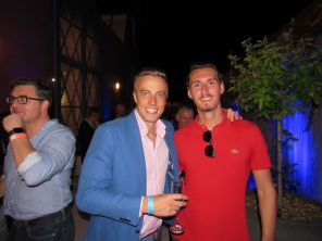 David Beckham et Zlatan Ibrahimović à la soirée d'ouverture des French Weeks 2018 à Miami