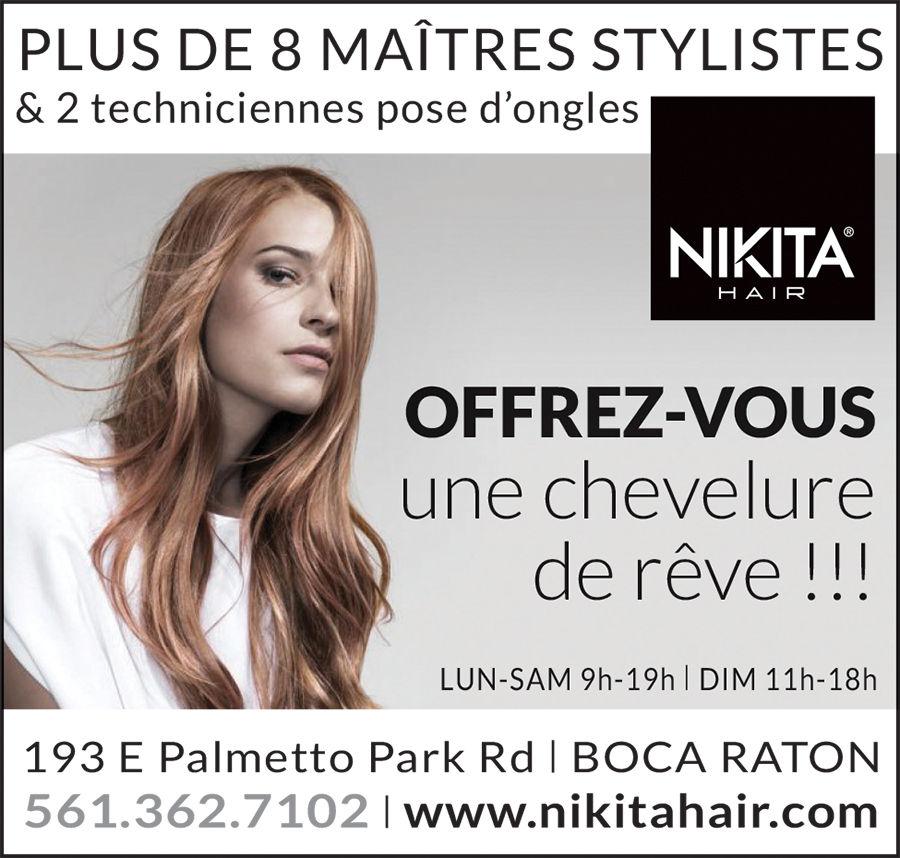 Nikita Hair salon de coiffure à Boca Raton