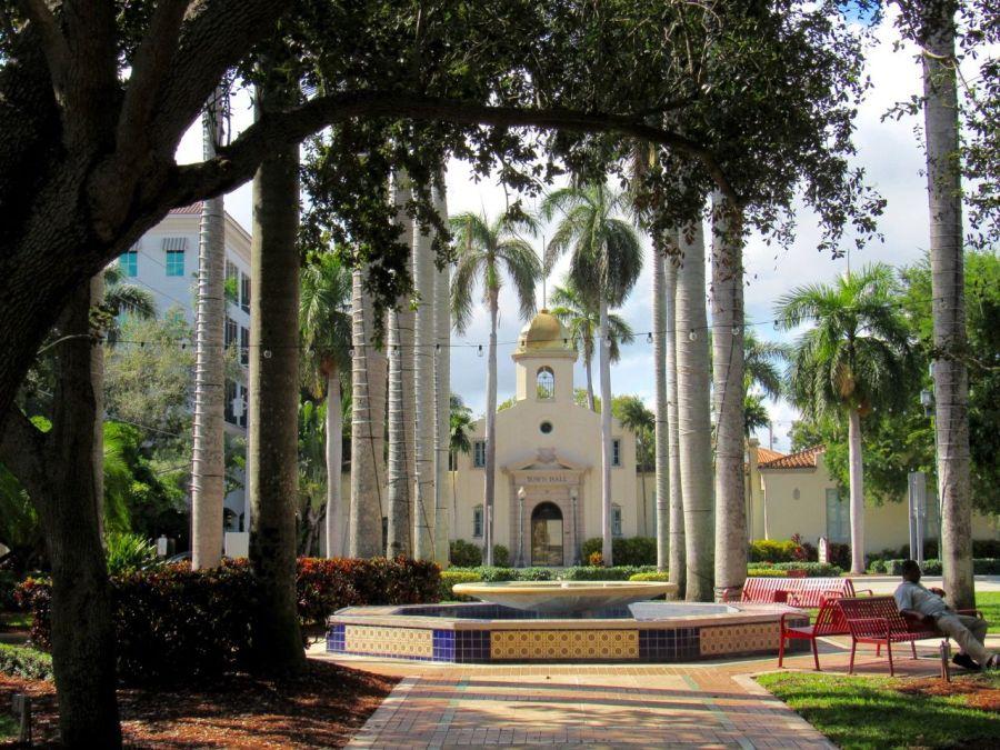 Old Town Hall : l'ancien hôtel de ville de Boca Raton