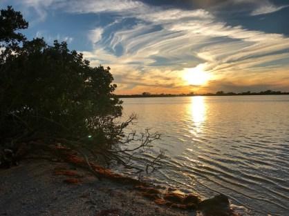 Cedar Point Park et la Lemon Bay, à Englewood en Floride