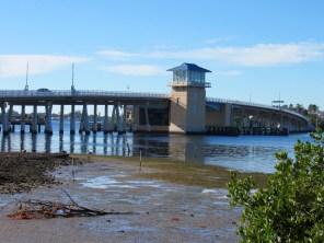 Le pont sur la Lemon Bay entre Englewood et Englewood Beach (Floride)