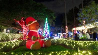 Photo of Les décorations de Noël à la Hoffman's Chocolates Factory de Lake Worth, près de West Palm Beach