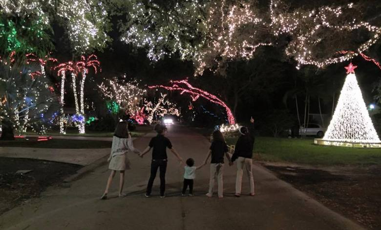 Noël : Les endroits les mieux décorés à voir en sud Floride