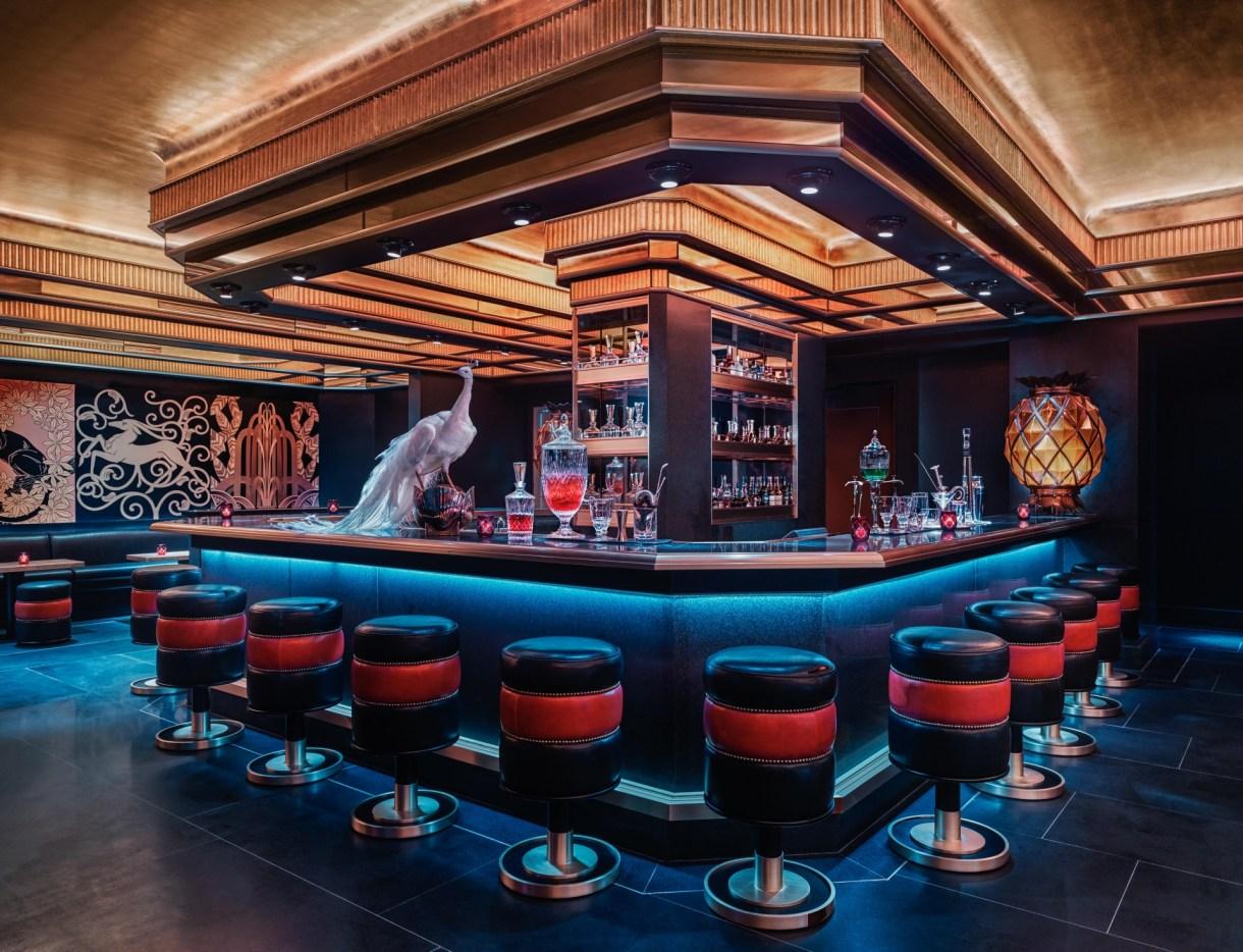Saxony Bar au Faena Hotel de Miami Beach