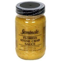 Sauce à la moutarde pour stone crab de Floride