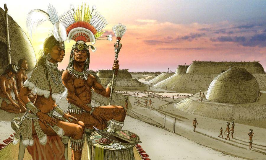 indian mounds en Floride