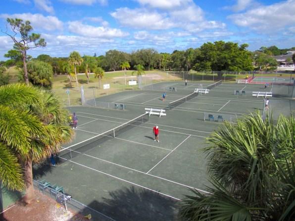 Académie de tennis au Club Med Sandpiper Bay à Port St Lucie en Floride