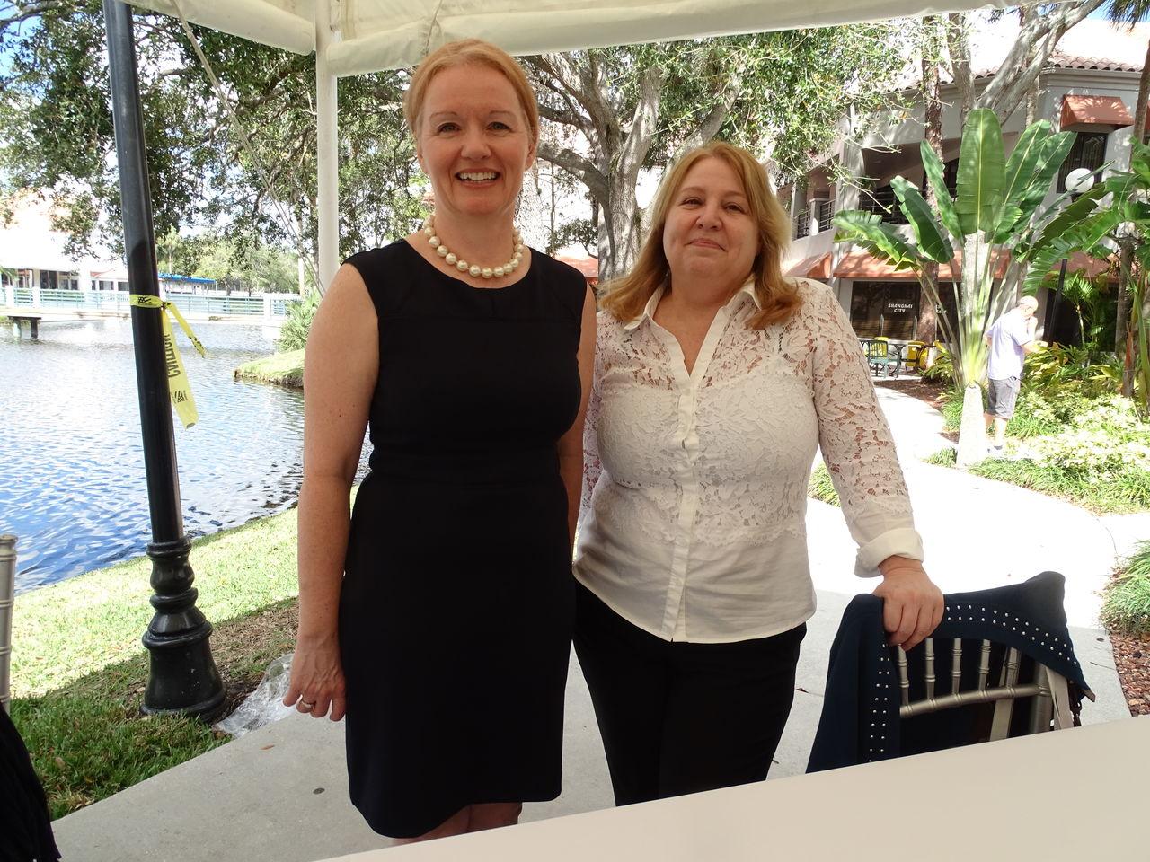 Journée portes ouvertes de la Desjardins Bank à Boca Raton en Floride