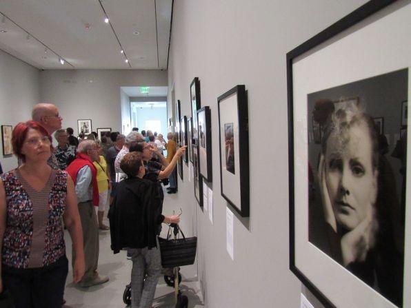Greta Garbo par Clarence Sinclair Bull, exposée au Norton Museum of Art de West Palm Beach, en Floride