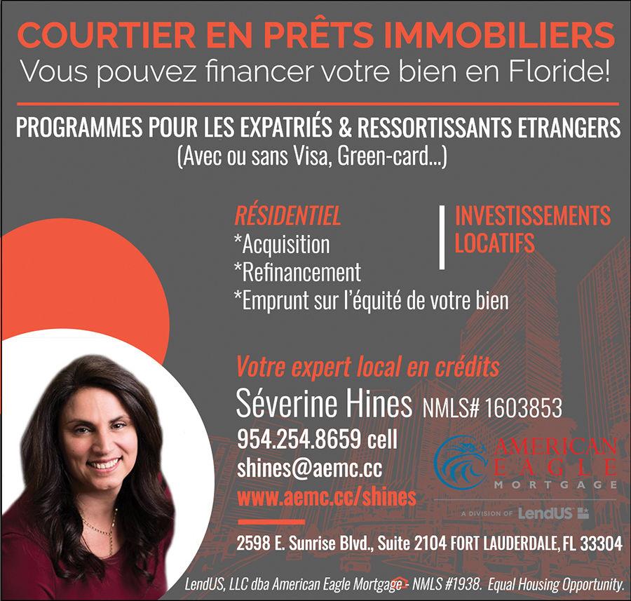 Séverine Hines / Courtier en prêts immobiliers