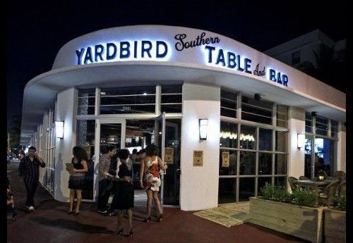 Yardbird restaurant à Miami Beach
