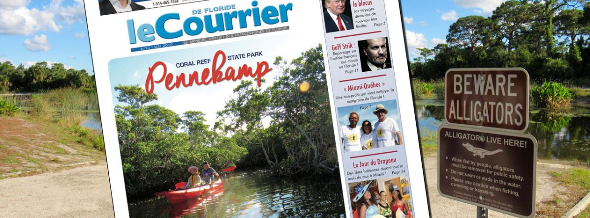 Le Courrier de Floride de Mai 2019 est sorti !