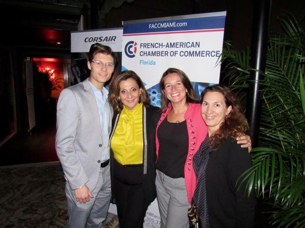 L'équipe organisatrice de la FACC-Miami.
