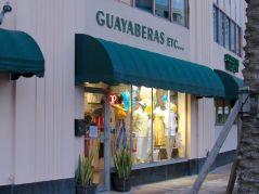 Magasin de Guayaberas sur Miracle Mile, l'artère centrale de Coral Gables, à Miami