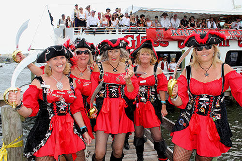 Fort Walton Beach : Billy Bowlegs Pirate Festival
