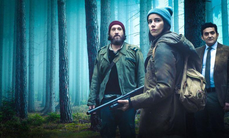 La série Zone Blanche est sortie sur Netflix International.